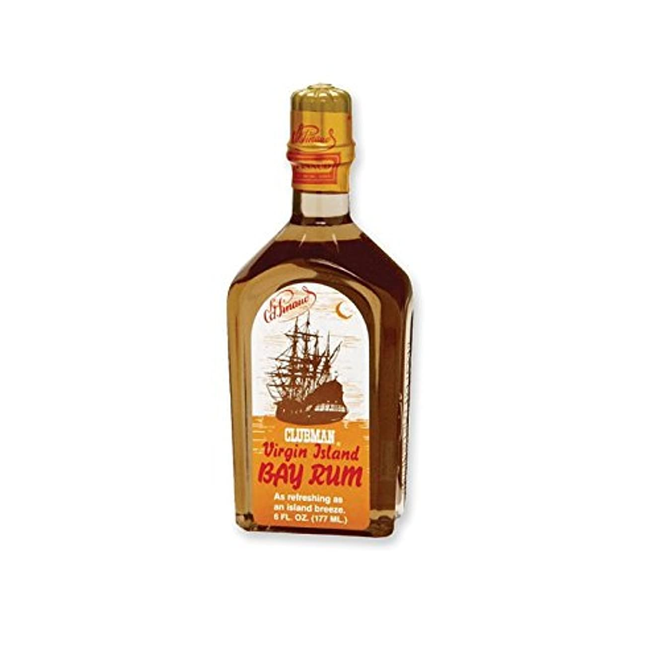 低下仕立て屋候補者CLUBMAN Virgin Island Bay Rum, 6 oz (並行輸入品)