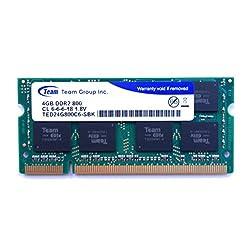 Team ノート用メモリ DDR2 800Mhz PC2-6400 4GB 1年保証