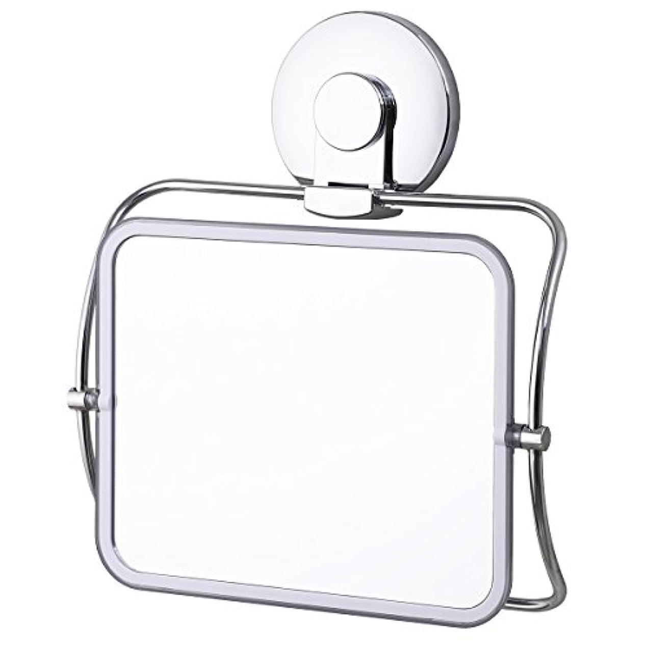 あそこ取り戻す黒TAILI 化粧鏡 風呂鏡 浴室ミラー 強力吸盤付き 壁掛け 壁傷つけない 回転可能 使いやすい 多機能 髭剃り 化粧 毛抜き用 おしゃれ 再利用可能