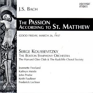 Saint Matthew Passion