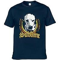 Men's Short Sleeve, Sublime T-Shirt Lou Dog Rock Band Tee