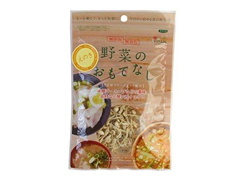 乾燥えのき6g×5袋セット(野菜のおもてなし)無添加 無着色 ニューフリーズドライ製法 榎茸 エノキダケ きのこ キノコ 乾燥野菜 国産やさい使用。