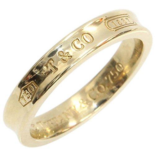 (ティファニー)TIFFANY リング ナローリング 1837シリーズ イエローゴールド 4MM 17号 中古 K18 57号 US8 指輪 メンズ TIFFANY&Co. [並行輸入品]
