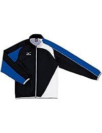 ミズノ(MIZUNO) トレーニングクロス(シャツ) N2JC501092 (92)ブラック×ブルー