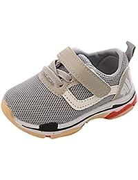 子供シューズ Hosam キッズ スニーカー ガールズ ボーイズ 運動靴 日常履き 12.5~14.5cm 3歳まで 歩く練習 歩育 通園