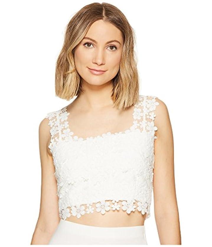 スコア暗殺黙認する[ニコールミラー] Nicole Miller レディース Alexa Crochet Lace Crop Top トップス Ivory PT (US 0-2) [並行輸入品]