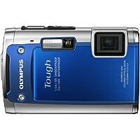 OLYMPUS 防水デジタルカメラ TOUGH TG-610 ブルー 5m防水 1.5m耐落下衝撃 -10℃耐低温 1400万画素 3Dフォト機能 Eye-Fiカード対応 TG-610 BLU