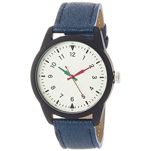 [フィールドワーク]Fieldwork 腕時計 ファッションウォッチ スクラフ アナログ 革ベルト ネイビー DT138-4