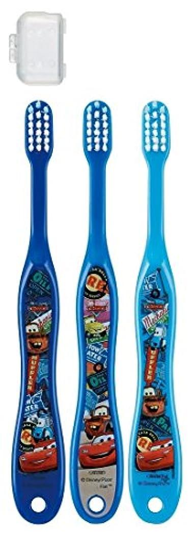 建築落ちた賢明な歯ブラシ 園児用 3-5才 毛の硬さ普通 3本組 カーズ 15 TB5T × 3個セット