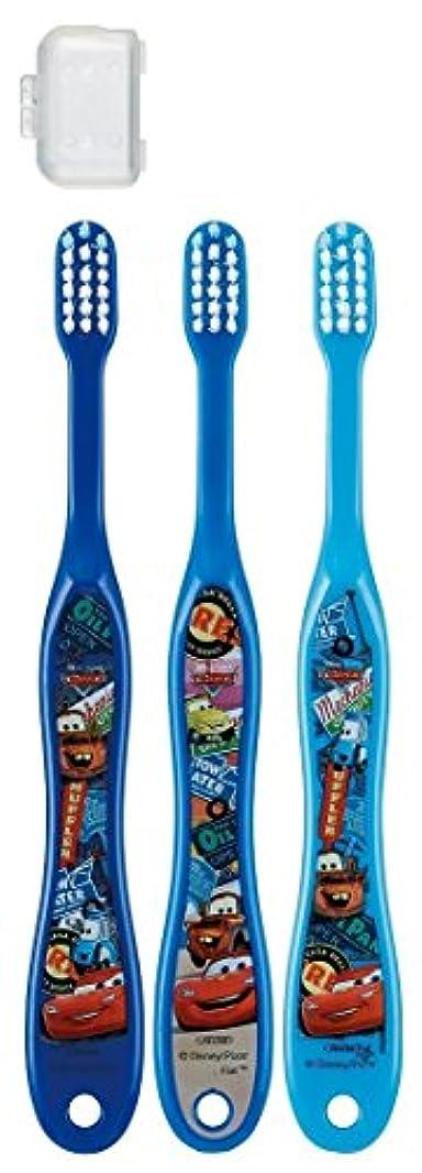 飛躍振動させるかける歯ブラシ 園児用 3-5才 毛の硬さ普通 3本組 カーズ 15 TB5T × 3個セット