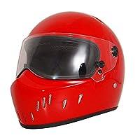 パージョン フルフェイスヘルメット PSC付き男女兼用ヘルメット 多色 ガラス繊維 バイクヘルメット 春 秋 冬 YD-252[A4/L]