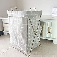 YurariMasaki ランドリー バスケット ホームストレージ 収納 折り畳み式収納 角型 いろいろな収納におしゃれなインテリア雑貨としても