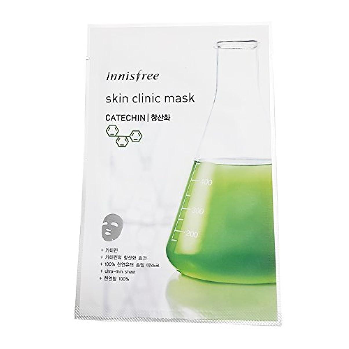 クラッシュ別の十分な[イニスプリー] Innisfree スキンクリニックマスク(20ml)-カテキン(抗酸化用) Innisfree Skin Clinic Mask(20ml)-Catechin for Antioxidant Effect...