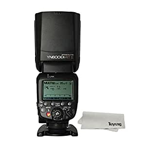 YONGNUO 製 YN 600EX-RT II Speedlite Radio Slave Flash Canon専用 ラッシュスピードライト TTL機能搭載ストロボ TTL 1/8000s AS Canon