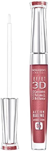 Bourjois 3D Effet Lip Gloss -# 03 Brun Rose Academic by Bourjois for Women - 0.19 oz Lip Gloss, 5.62 millilite