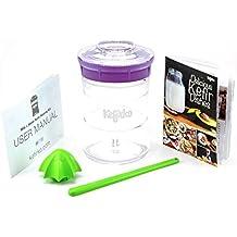 (Violet) - KEFIRKO - Kefir Fermenter Kit - Easily Brew Your own Milk Kefir and Water Kefir Violet