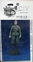 CIV ミニチュア 1:35 第二次世界大戦 ドイツ兵士 樹脂フィギュアキット #049