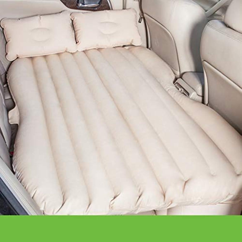 奨励しますボード四面体SYLOZ 車の膨脹可能なベッドの自動運転旅行車のマットレス旅行ベッド特別な膨脹可能なベッド車旅行車のベッド (Color : Beige)