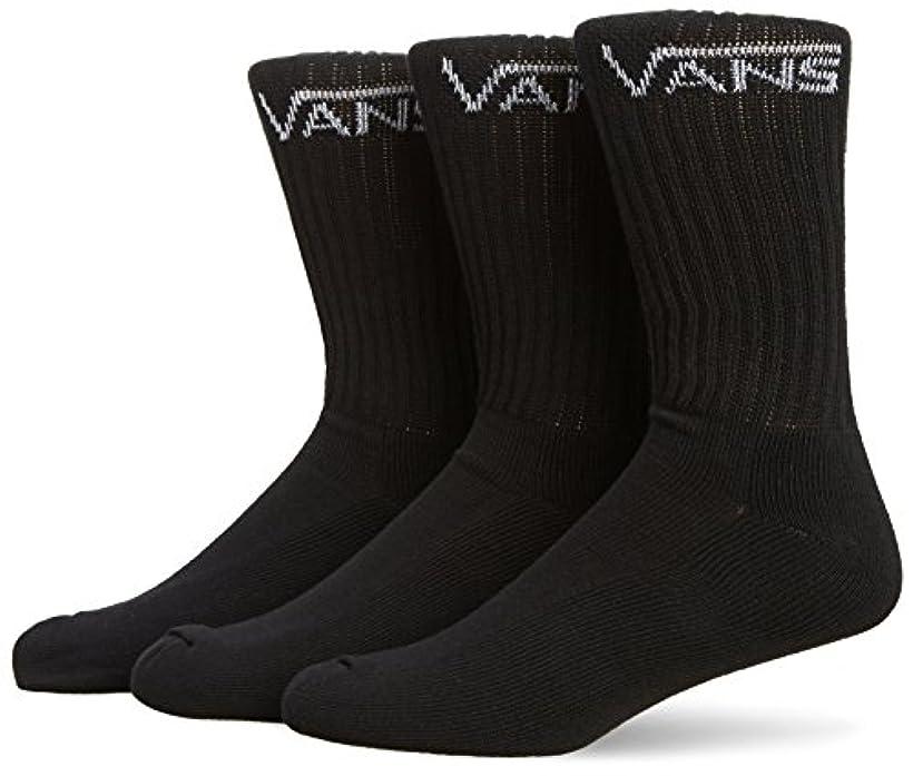 くすぐったいオール閉塞【VANS】バンズ 2017秋冬 Classic Crew Socks メンズ 靴下 ソックス 3足セット