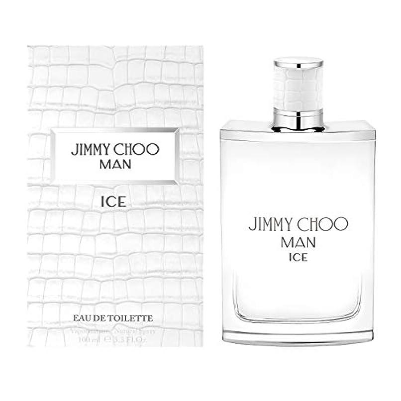 申し込む一部従来のJimmy Choo Man Ice (ジミー チュー マン) 3.3 oz (100ml) EDT Spray for Men
