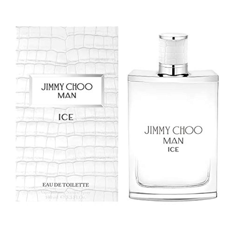 マットレスイブニング敵Jimmy Choo Man Ice (ジミー チュー マン) 3.3 oz (100ml) EDT Spray for Men