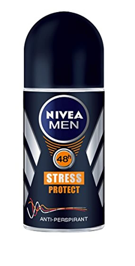 踊り子小麦粉絶対にNivea Men Stress Protect Anti-Perspirant Roll-On 50 ml / 1.7 fl oz