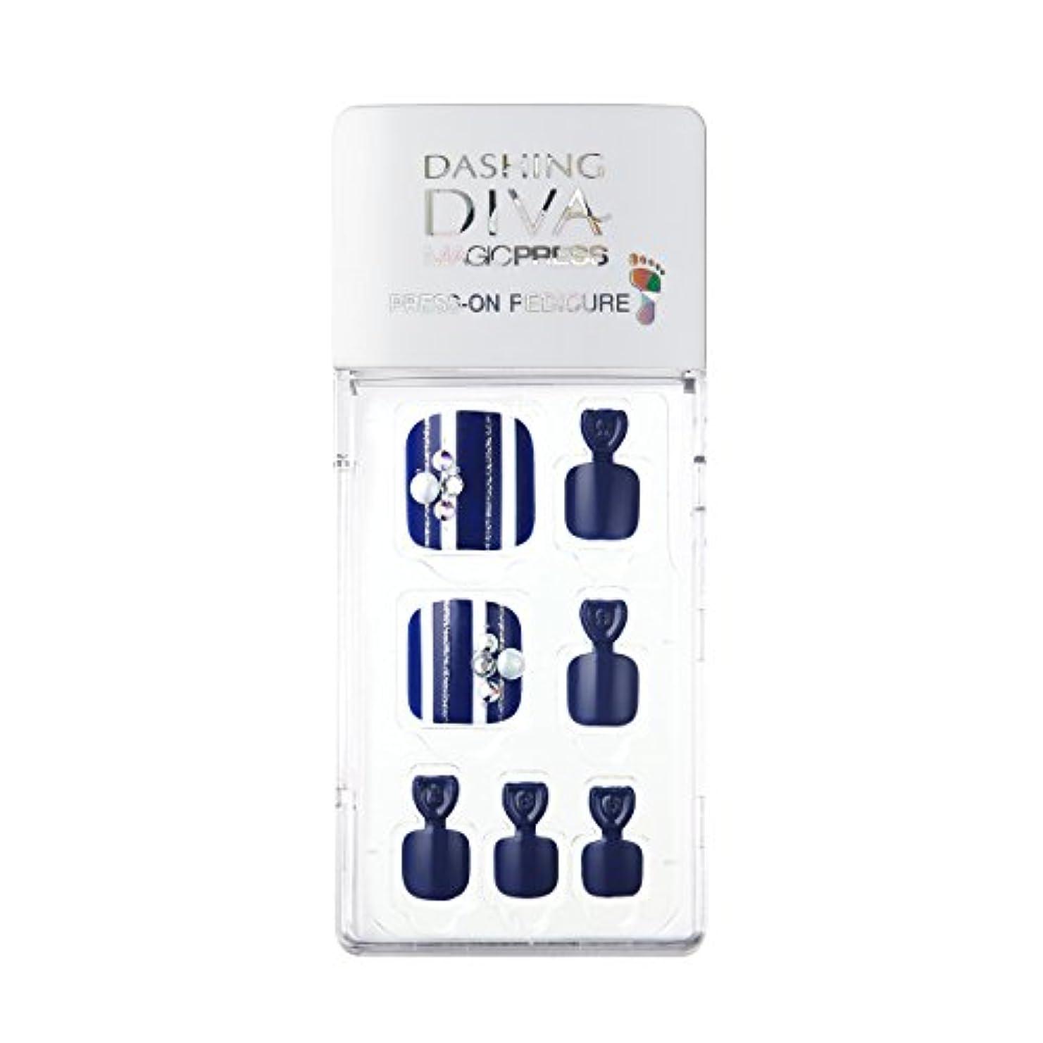 大使館いつも浜辺ダッシングディバ マジックプレス DASHING DIVA MagicPress MDR194P-DURY+ オリジナルジェル ネイルチップ