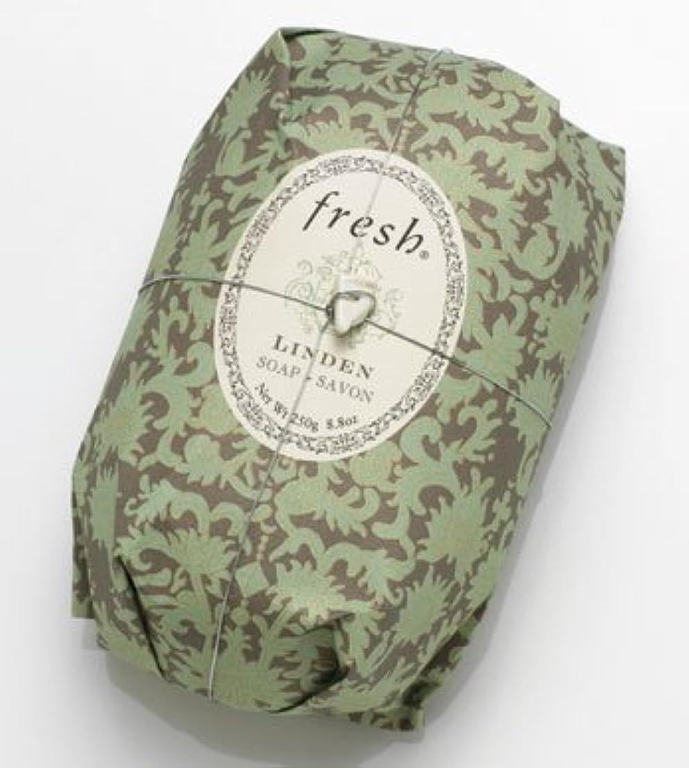 バースト時制誇張するFresh LINDEN SOAP (フレッシュ リンデン ソープ) 8.8 oz (250g) Soap (石鹸) by Fresh