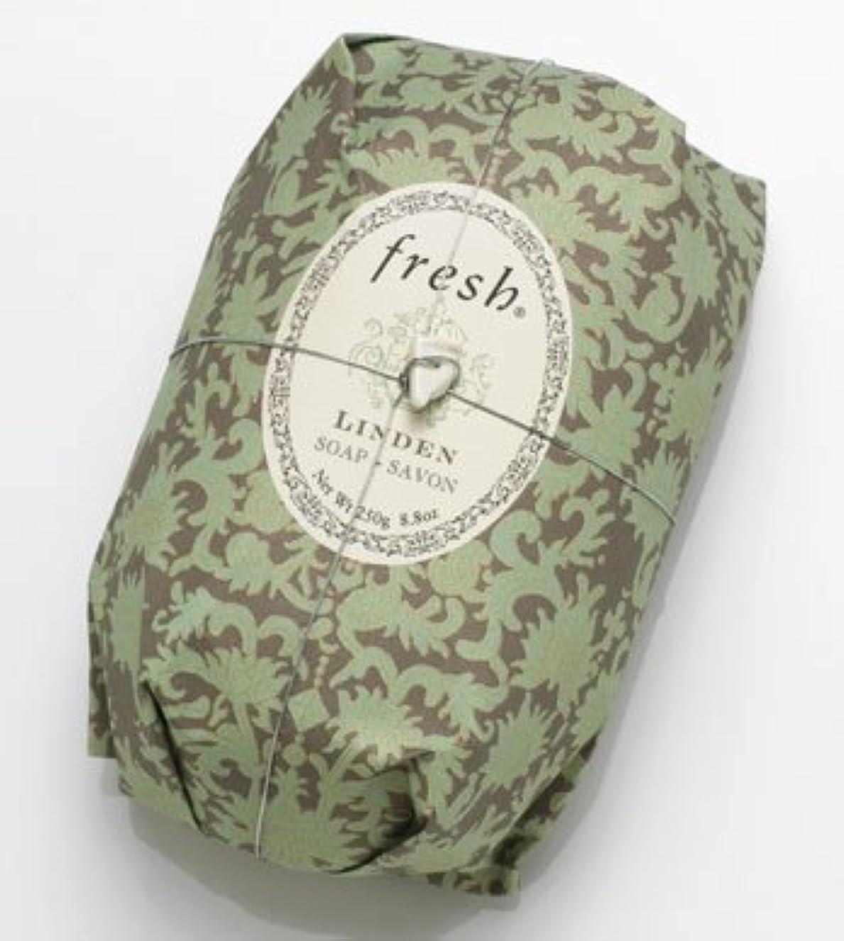 歩行者分泌する感謝しているFresh LINDEN SOAP (フレッシュ リンデン ソープ) 8.8 oz (250g) Soap (石鹸) by Fresh
