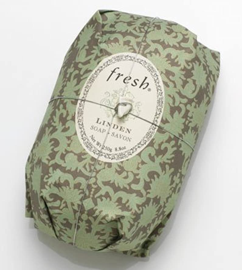 リーダーシップ耳ボランティアFresh LINDEN SOAP (フレッシュ リンデン ソープ) 8.8 oz (250g) Soap (石鹸) by Fresh
