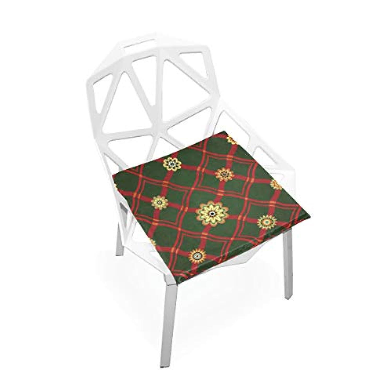 座布団 低反発 花 流れ チェック ビロード 椅子用 オフィス 車 洗える 40x40 かわいい おしゃれ ファスナー ふわふわ fohoo 学校