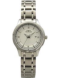 [テクノス]TECHNOS 腕時計 3針 デイト T6877SS レディース