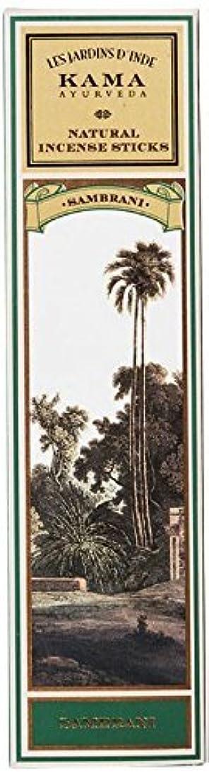 証拠裁量適応するKama Ayurveda Natural Incense Sticks Sambrani (30 Sticks), 50g