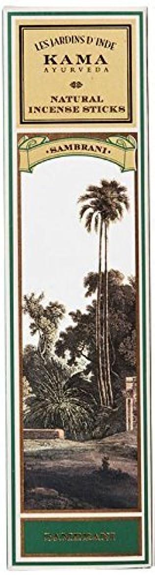 一貫性のないプラグ結婚Kama Ayurveda Natural Incense Sticks Sambrani (30 Sticks), 50g