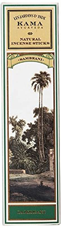 追い払うメダル白内障Kama Ayurveda Natural Incense Sticks Sambrani (30 Sticks), 50g