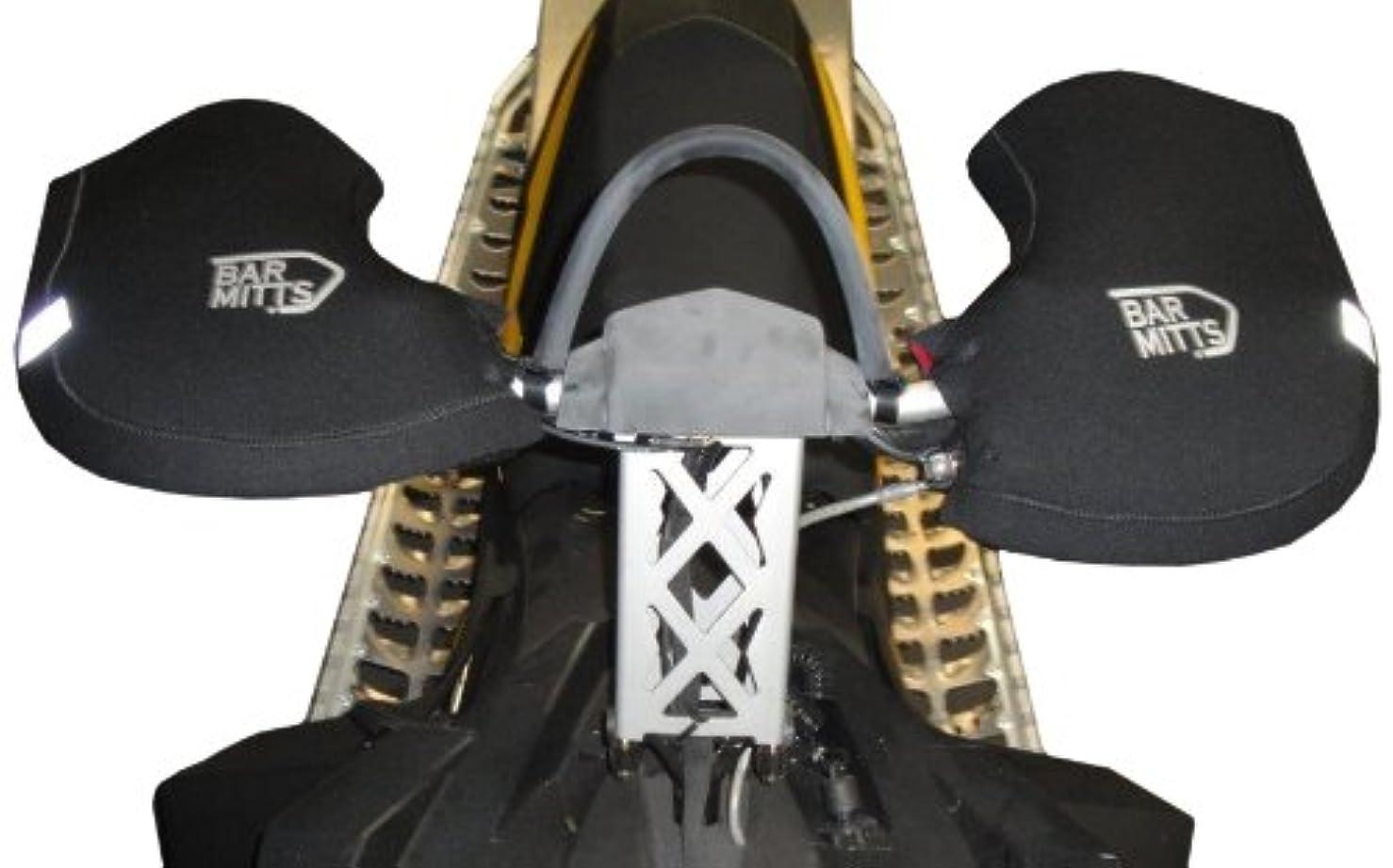 かもめ軽減するコーデリアBar Mitts Snowmobile/ATV/Dirt Bike Mitts, Black, One Size by Bar Mitts