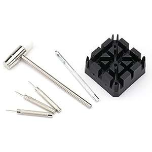 [タイムキング]TimeKing バンド調節工具 腕時計のベルト調整やサイズ調整 時計工具/腕時計工具 7点セット