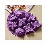 鋳型 シリコン製 モールド 耐熱 ケーキ・チョコ型 記念日 誕生日 お菓子型 石鹸 雑貨 プレゼント