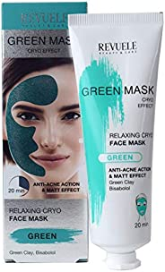 Revuele Green Mask - Relaxing Cryo Face Mask, 80ml, 97 grams