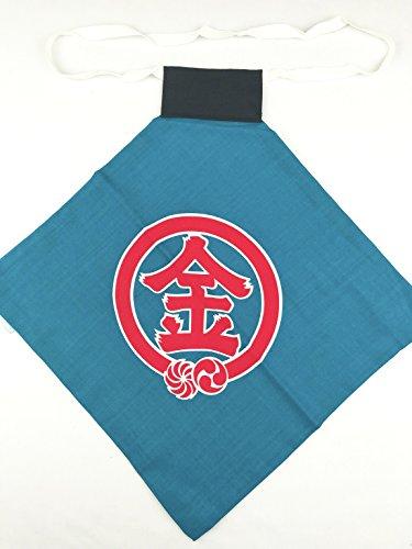 子供用腹掛 金太郎 1~3才用【青】