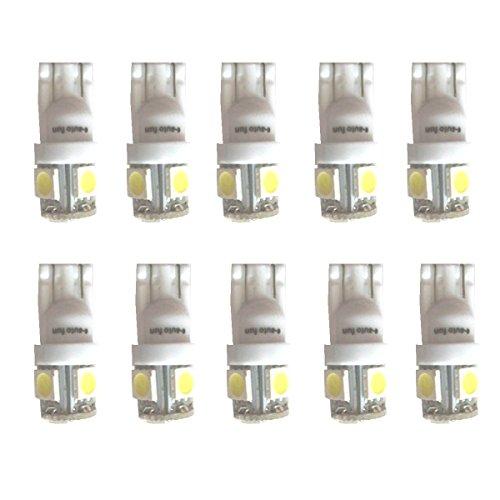 【e-auto fun】T10 LED 高輝度ホワイト600...