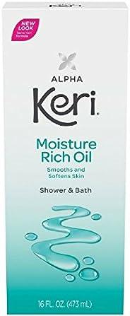 Alpha Keri Shower & Bath Moisture Rich Oil 16 oz (Pack O
