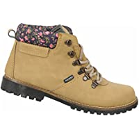 Discovery Expedition Womens Ankle High Outdoor Boot w/Fashion Patterened Trim