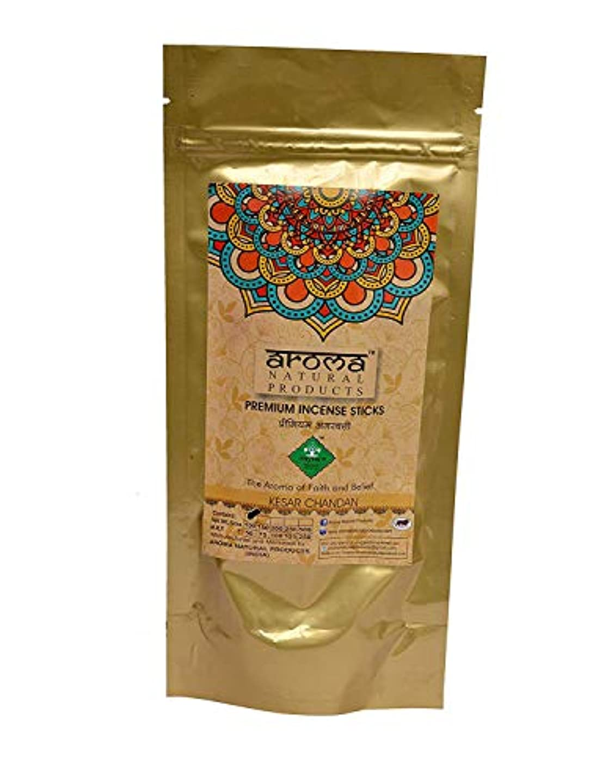 スティック臭いぬるいAROMA NATURAL PRODUCTS Kesar Chandan Incense Stick Agarbatti (100 g)