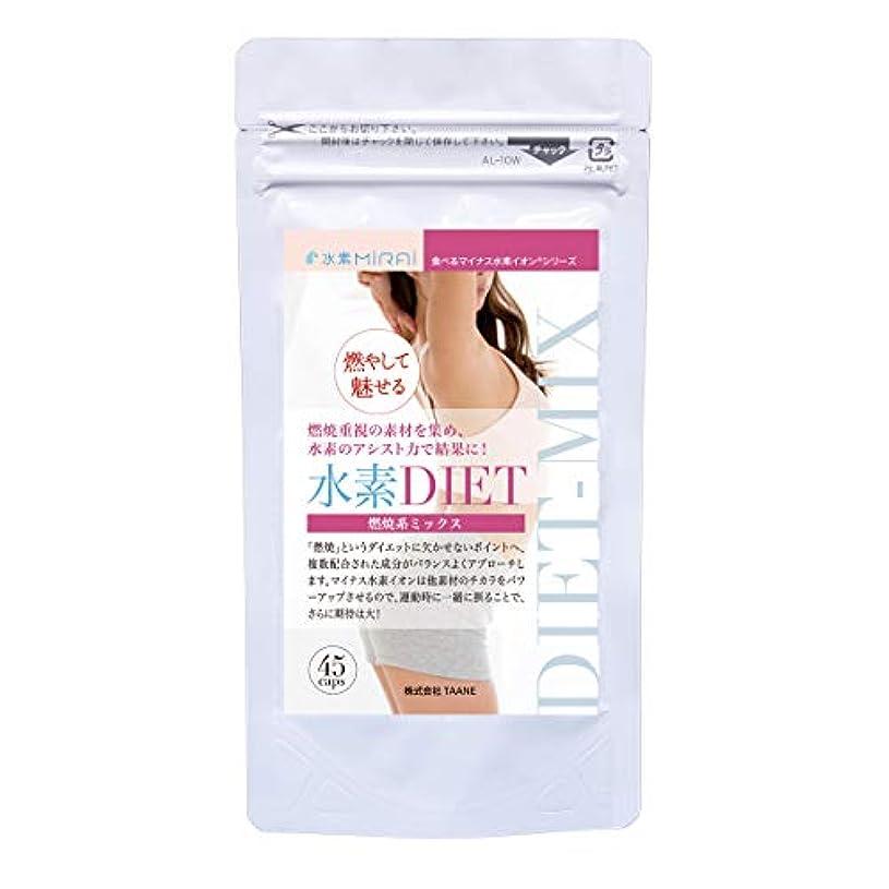 支配する歯痛紫の水素DIET(ダイエット) 燃焼系ミックス