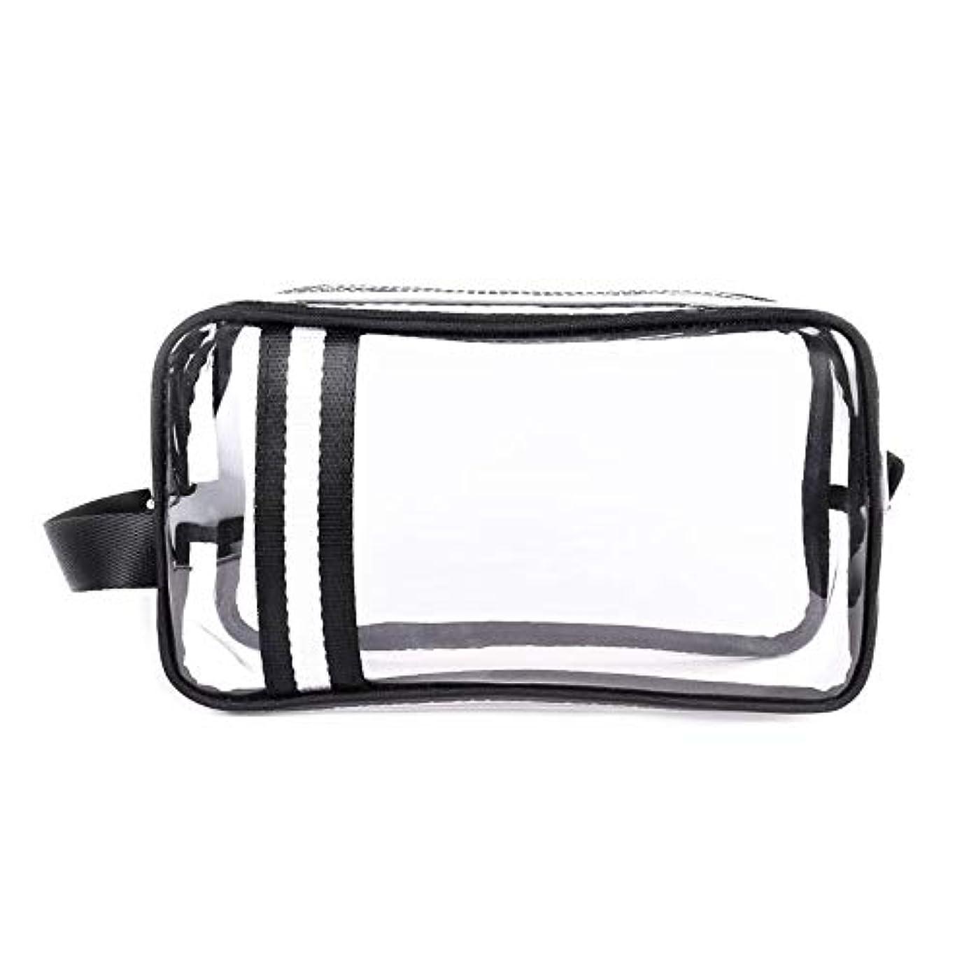 腐食する研磨アクセサリーKYAWJY 防水透明PVCウォッシュバッグ、旅行ポータブル収納バッグ、大容量ハンドバッグ、メンズ屋外仕上げパッケージ