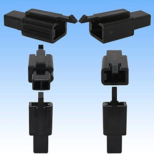 住友電装 110型 MTW 2極 カプラー・端子セット 黒色