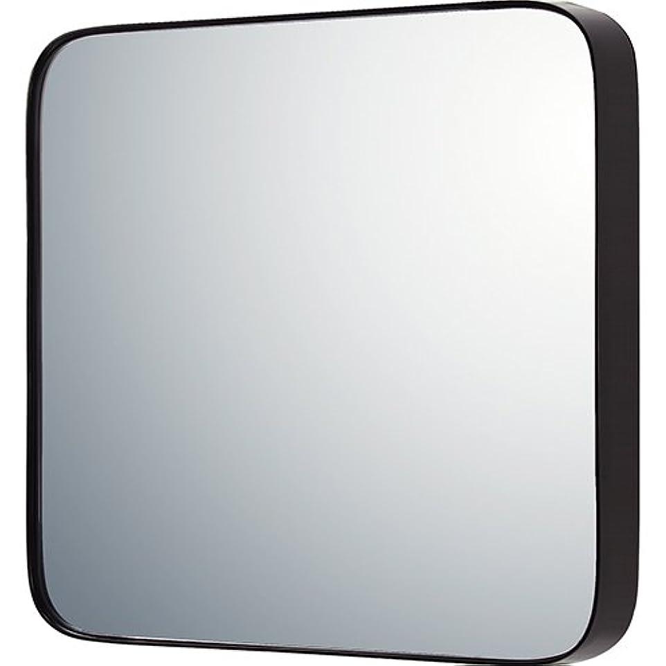 不完全なアプトなかなかユーパワー ミラー?鏡 マルチ 重さ:約5.1kg ラウンドコーナー (L) グロスブラック SM-09042