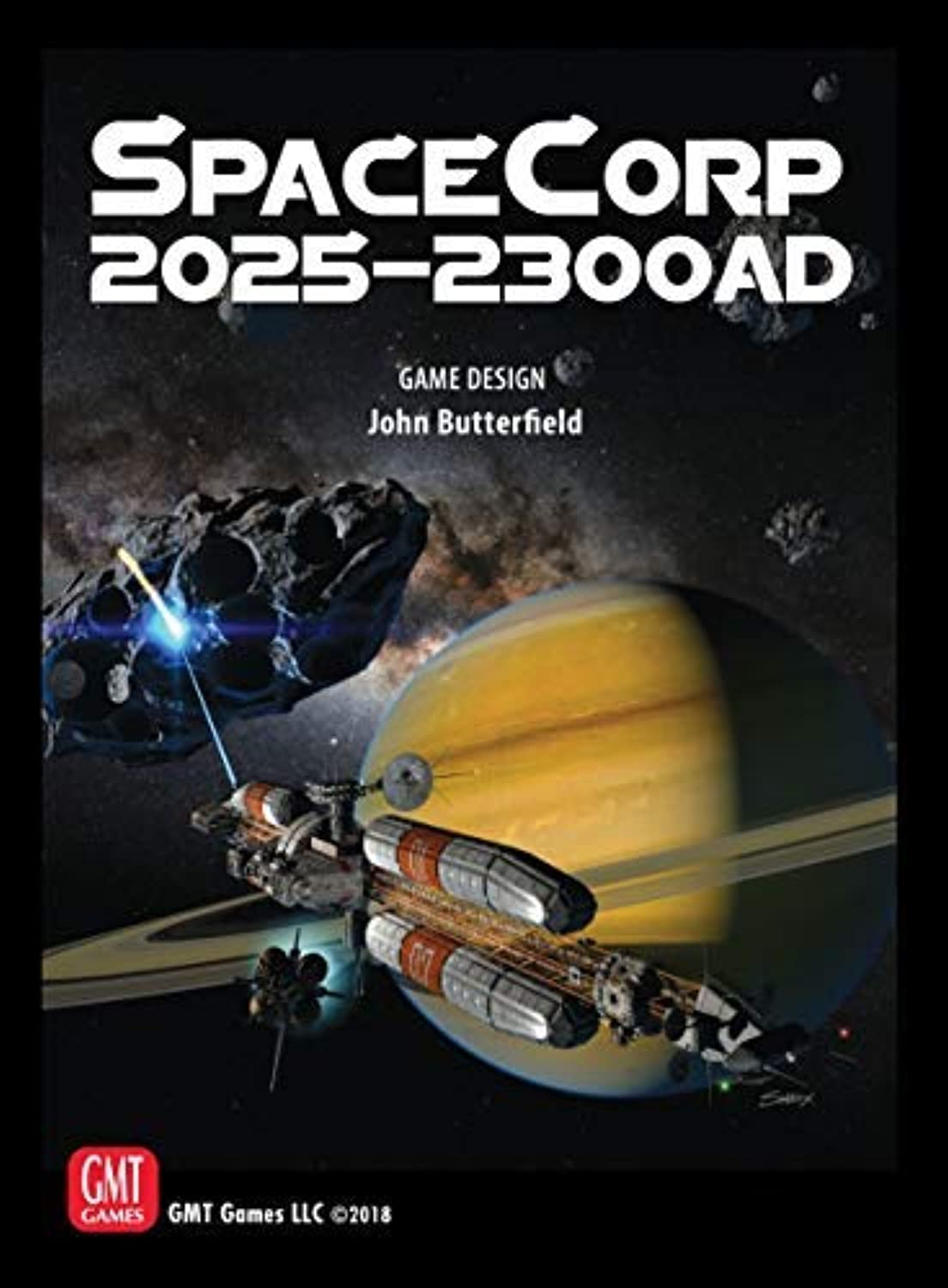 GMT Games SpaceCorp: 2025–2300 AD Board Game [並行輸入品]