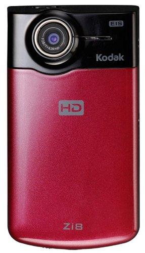 Kodak デジタルポケットカメラ ラズベリー  Zi8 ラズベリー